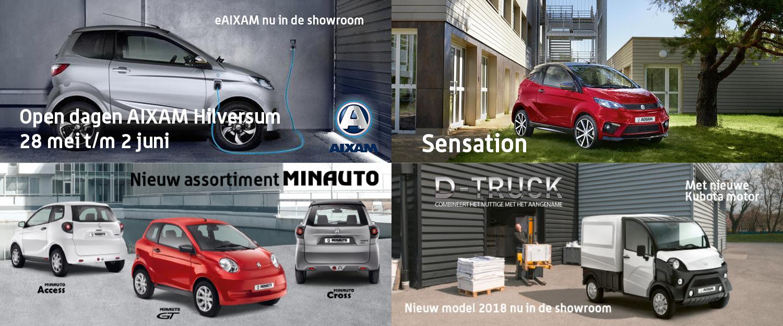 Open Dagen Aixam Hilversum Aixam